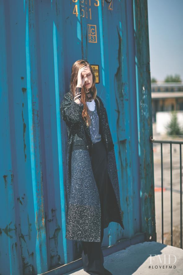 Gerda Mic featured in Gangsta, September 2015