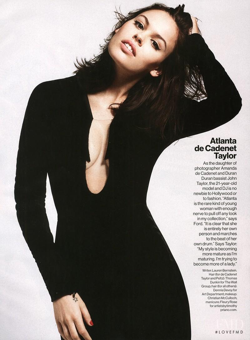 Atlanta De Cadenet Taylor featured in Meet The It Girl, September 2013