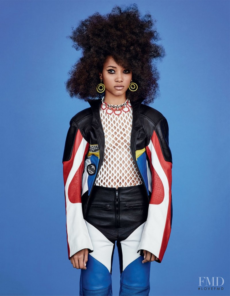 Colour By Numbers in Vogue UK with Lineisy Montero - (ID:28164 ...