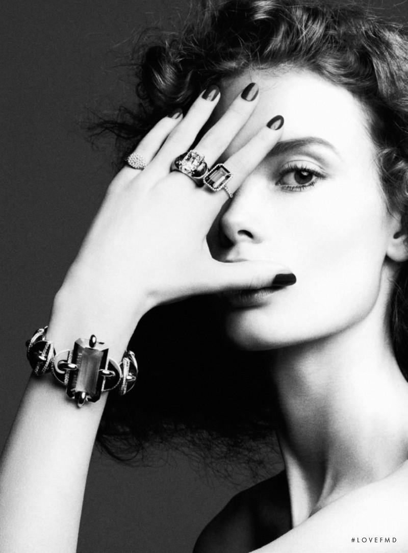 Julia Hafstrom featured in Bijoux, February 2016