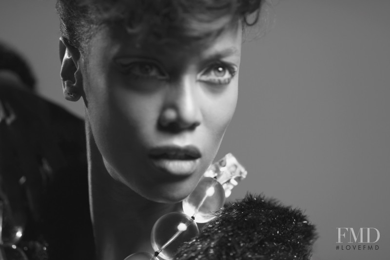 Tyra Banks featured in There and Back Again, December 2011