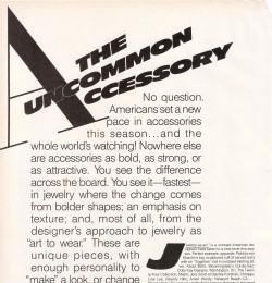 The Uncommon Accessory