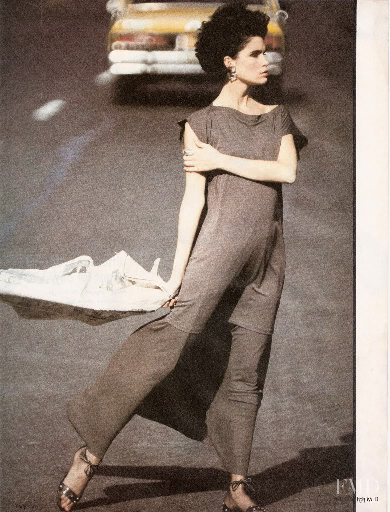 Kim Williams featured in What Looks Great Now, New York, January 1984