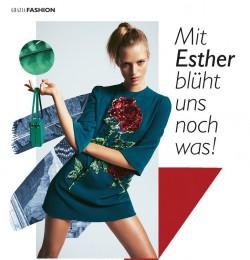 Mit Esther blpht uns noch was!