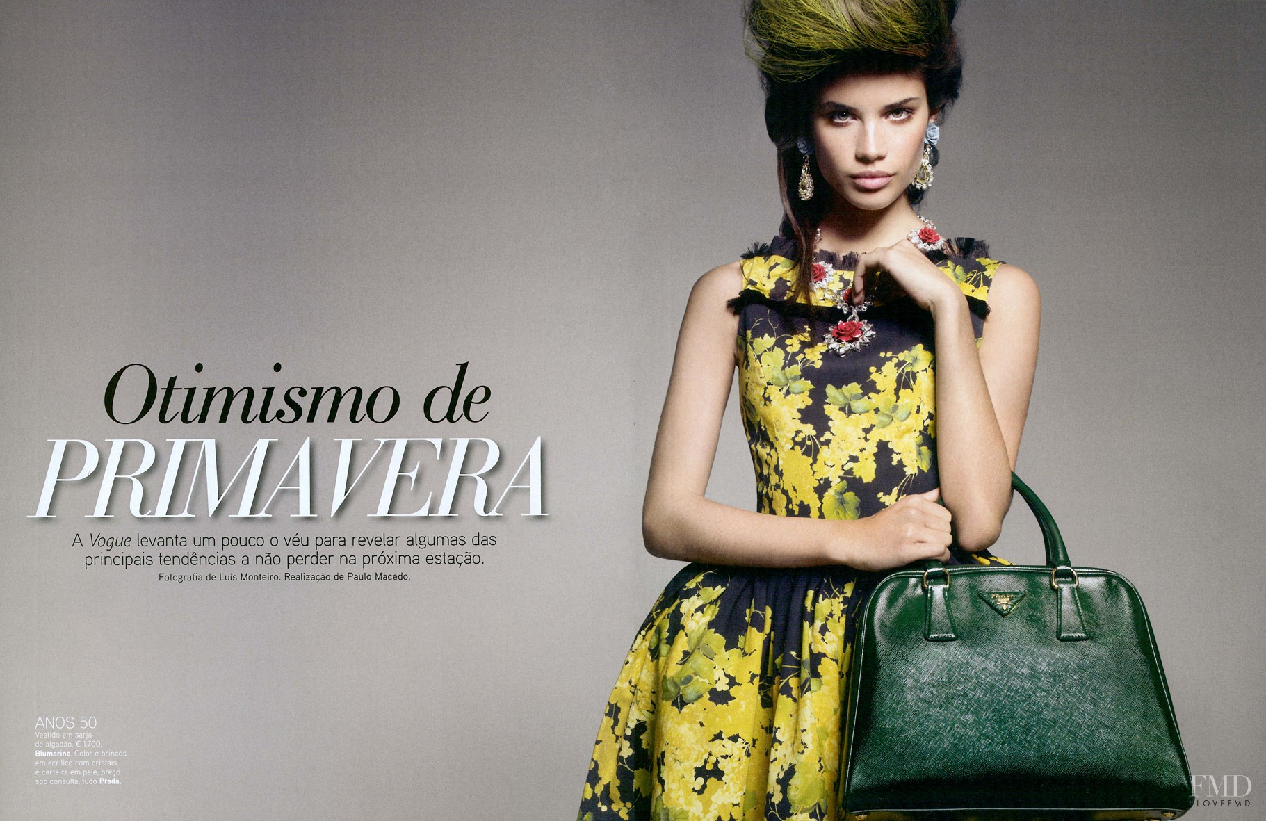 c436ad7f2 Otimismo de Primavera in Vogue Portugal with Sara Sampaio - (ID ...