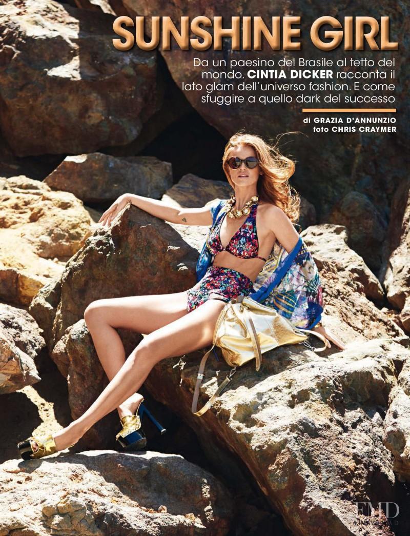 Cintia Dicker featured in Sunshine Girl, June 2016