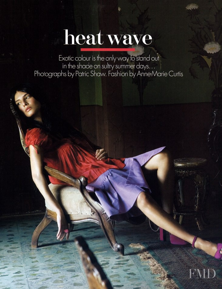 Liliana Dominguez featured in Heat Wave, May 2005