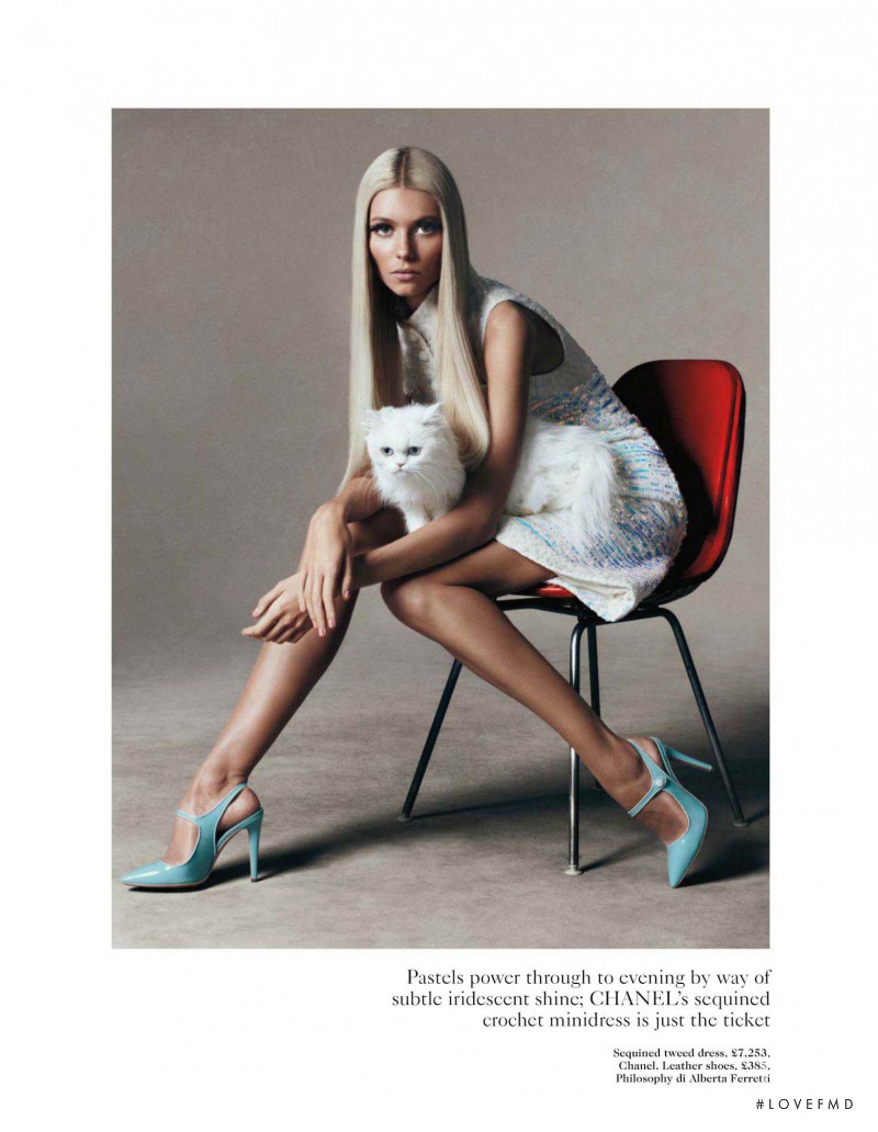 Vika Falileeva featured in Spring Forward, February 2012