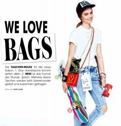 We Love Bags In Instyle Germany With Daria Piotrowiak Fashion