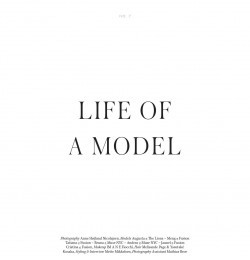 Life Of A Model