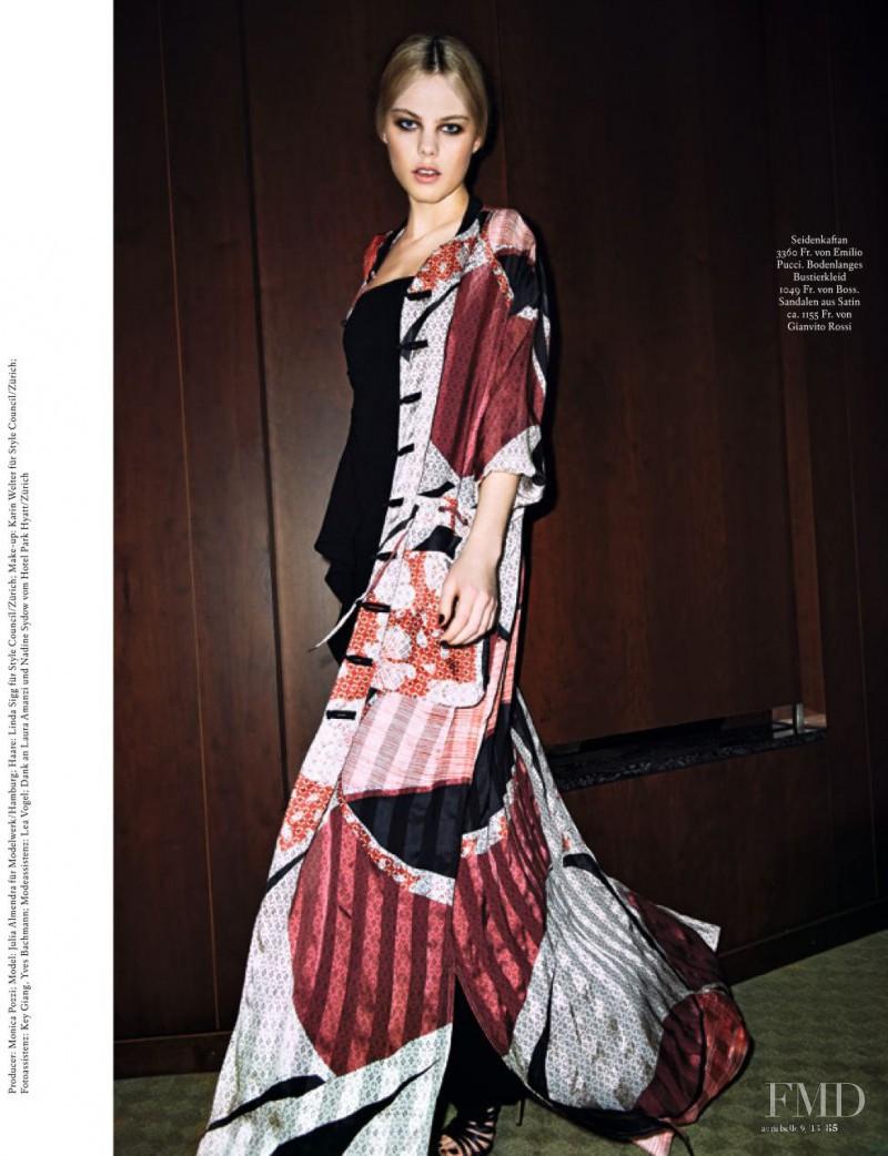 Julia Almendra featured in Urban Geisha, September 2013