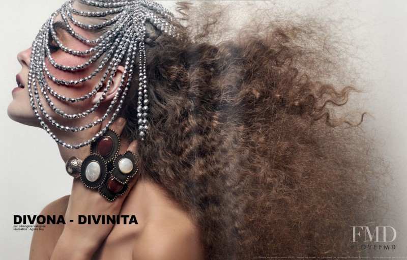 Dolores Doll featured in Divona - Divinita, June 2013