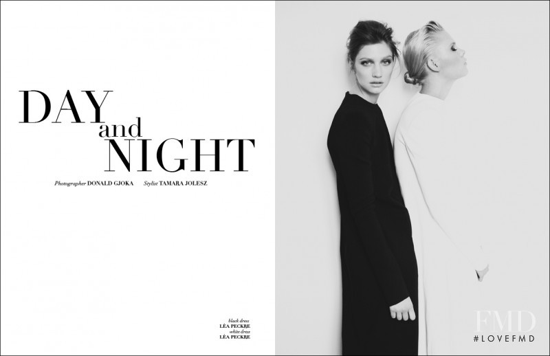 Marine Dauchez featured in Day and Night, July 2013