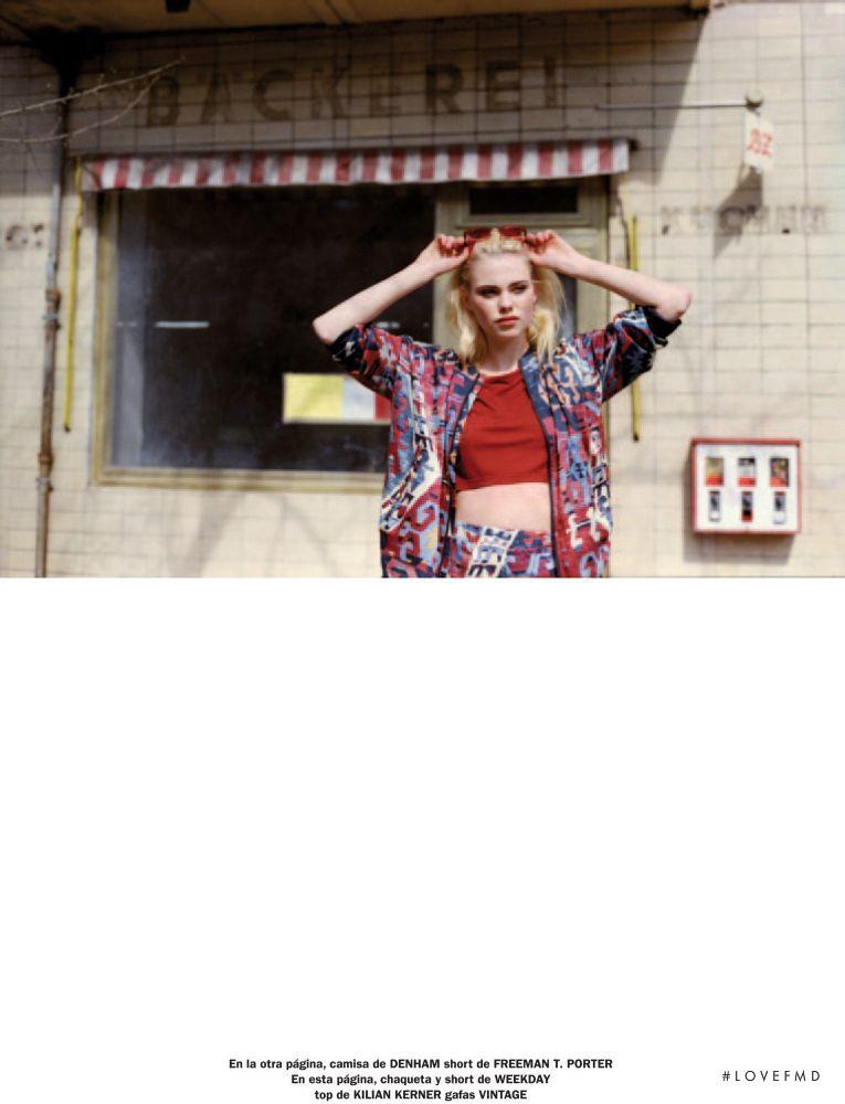 Julia Almendra featured in New Face Julia, July 2013