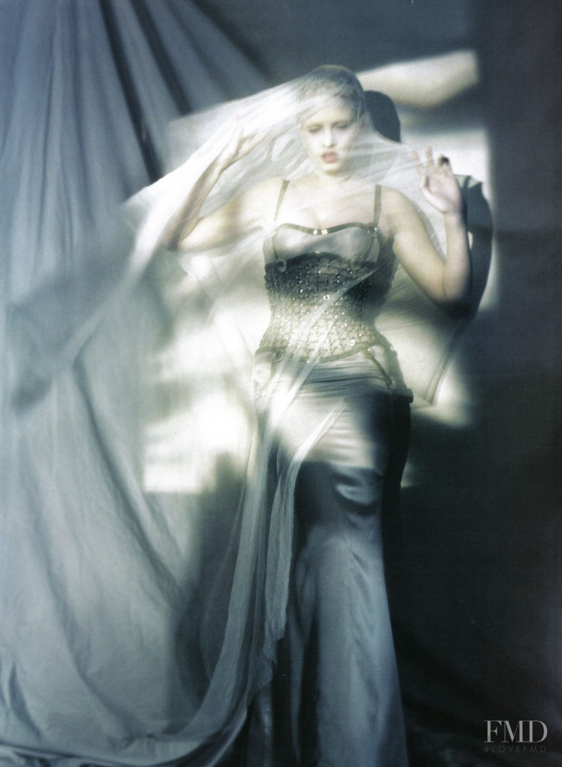 Lara Stone featured in The great illusion, March 2010