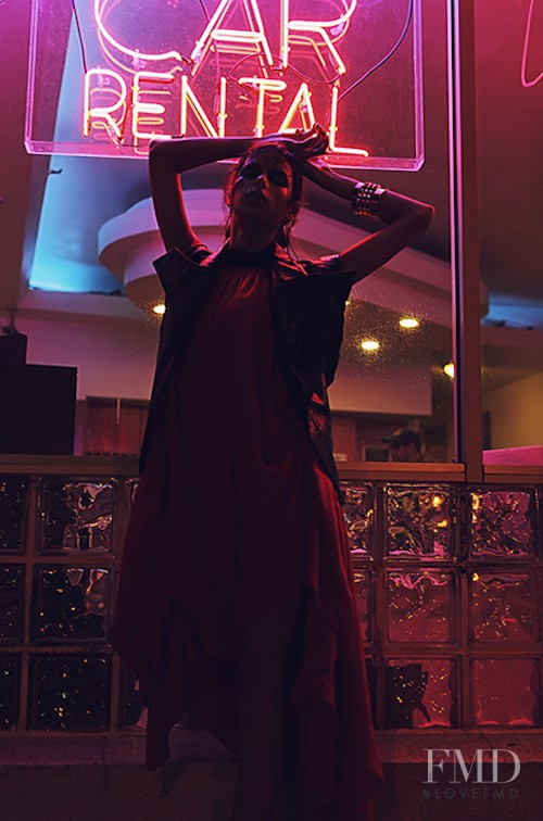 Bruna Lirio featured in Wild Eyed Angel, February 2013