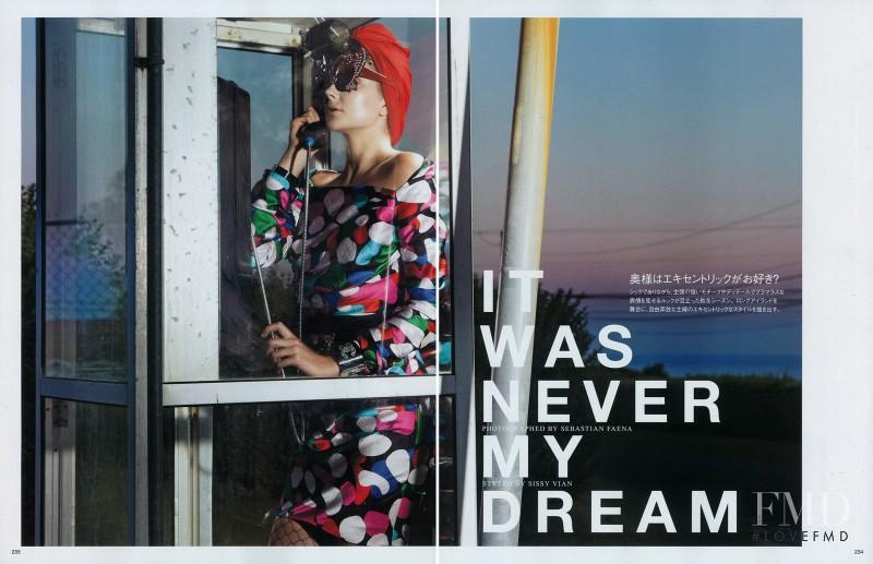 Eniko Mihalik featured in It was Never my Dream, December 2010