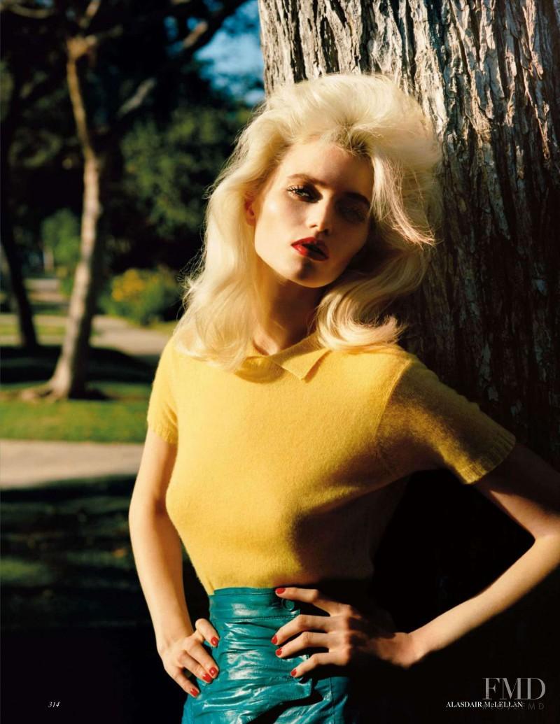 Abbey Lee Kershaw featured in American Pop, March 2012