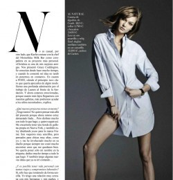 American Girl In Vogue Spain With Karlie Kloss Fashion Editorial