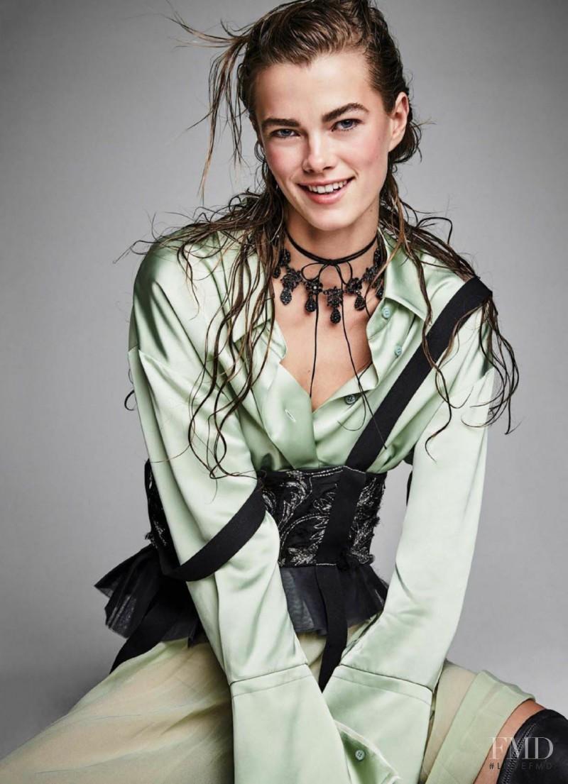 Mathilde Brandi featured in Own the Night, December 2016