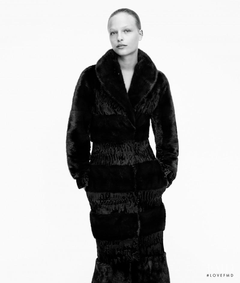 Frederikke Sofie Falbe-Hansen featured in Downtown Cool Looks Make a Sleek Statement, November 2016