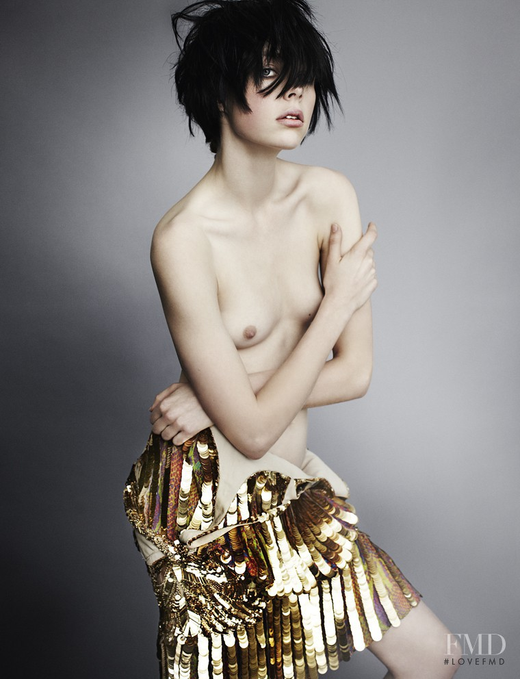 Edie Campbell featured in Little Miss Optimist, March 2012