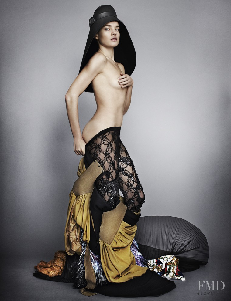 Natalia Vodianova featured in Little Miss Optimist, March 2012
