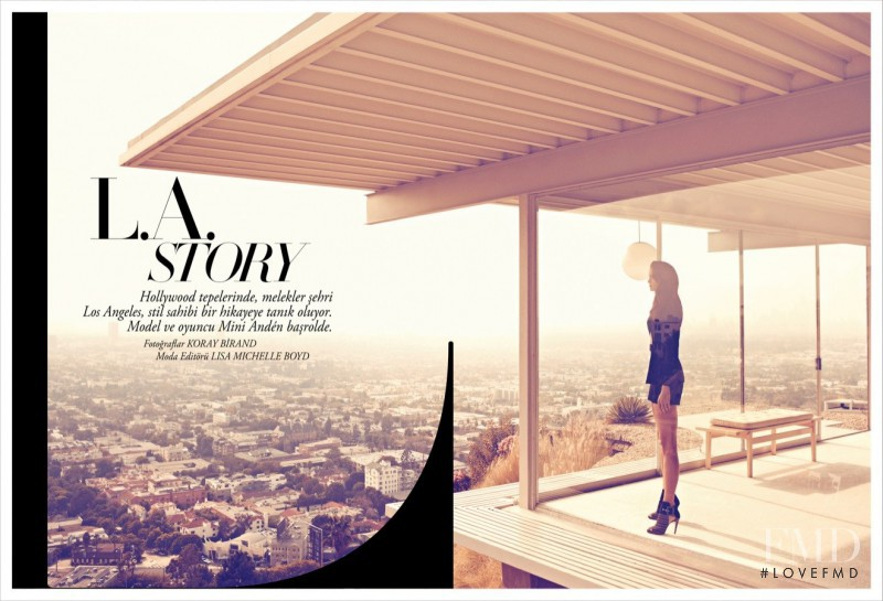 Mini Anden featured in L.A. Story, February 2012