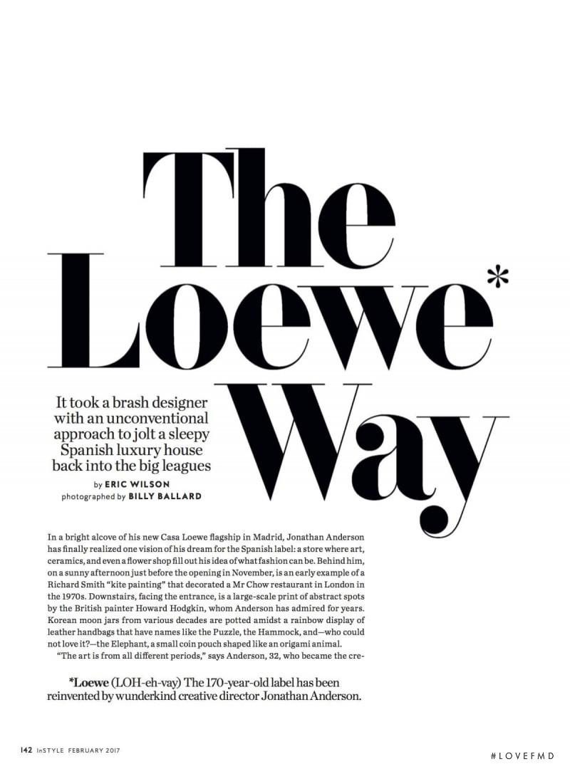 The Loewe Way, February 2017