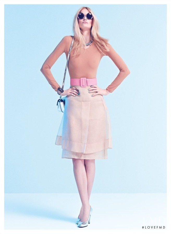 Katrin Thormann featured in Pastel Beauty, March 2012