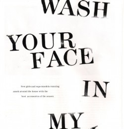Fash Your Face In My Skin