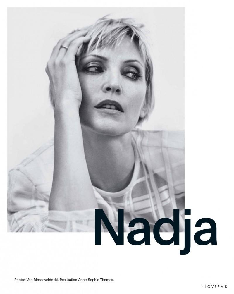 Nadja Auermann featured in Nadja, March 2017