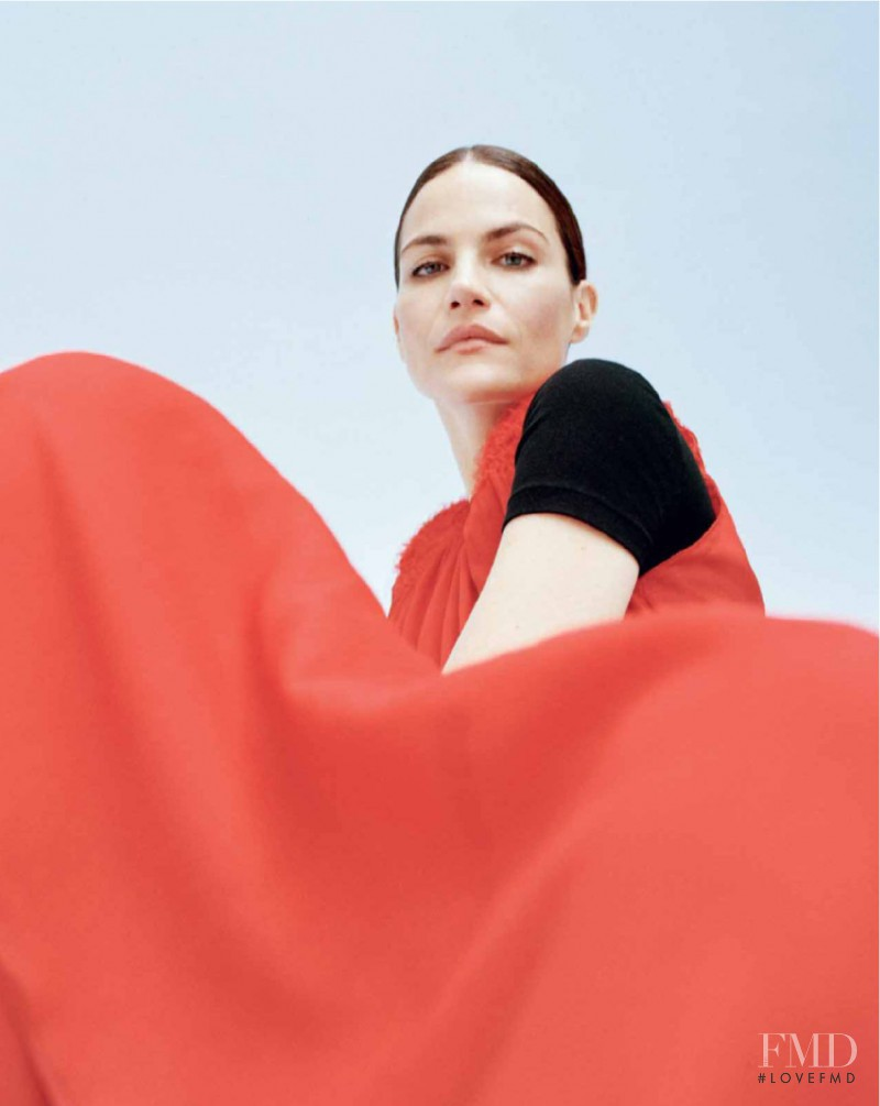 Missy Rayder featured in Rouge de rose, March 2017