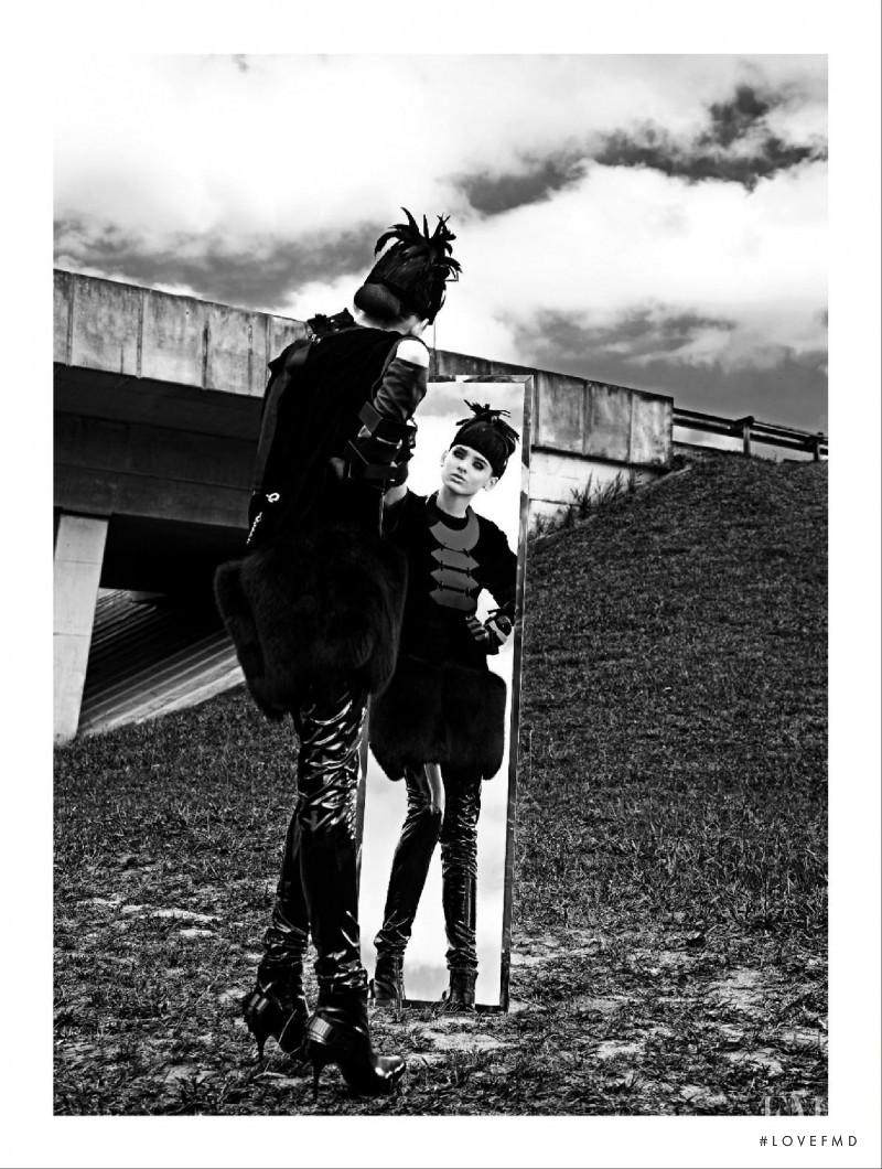 Carolina Thaler featured in Depeche Mode, June 2009
