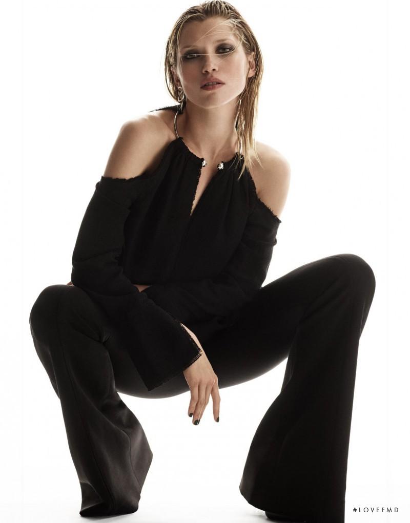 Hana Jirickova featured in Black Beauties, November 2016