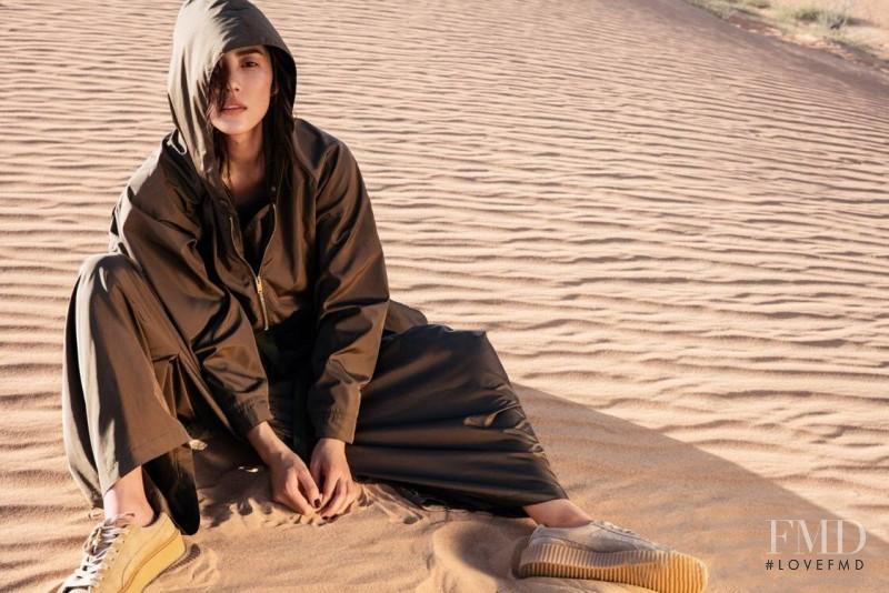 Liu Wen featured in Desert & Dazzle, March 2017