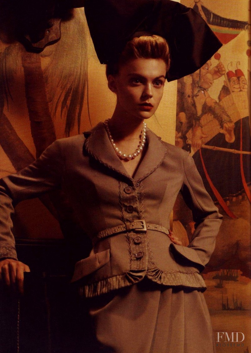 Viktoriya Sasonkina featured in In The Mood, September 2009
