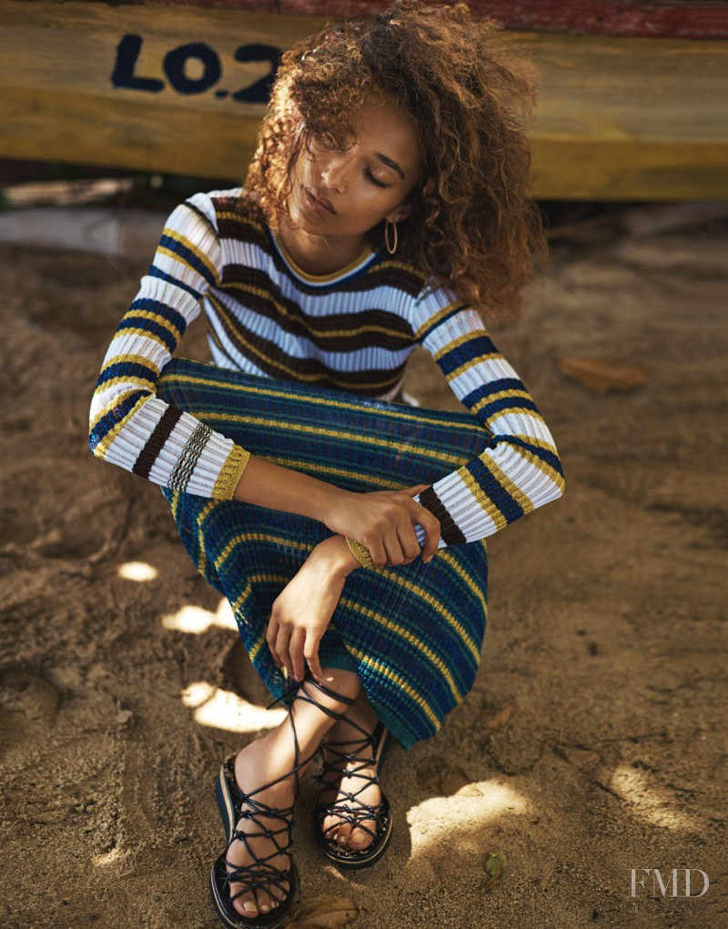 Anais Mali featured in Sun Is Shining, April 2016