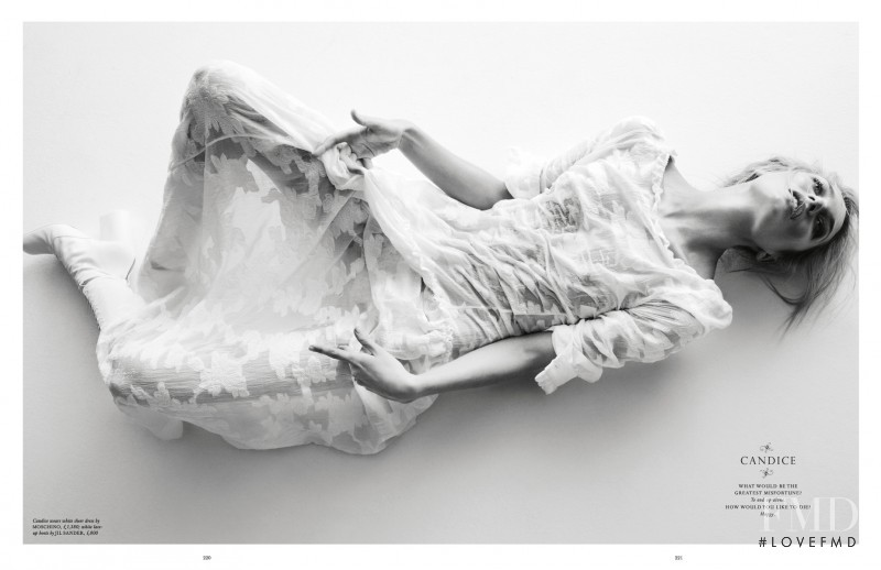 Candice Swanepoel featured in Bedlam, March 2012