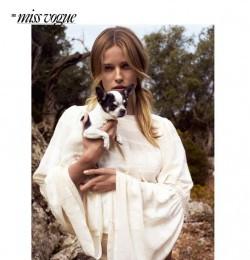 Miss Vogue: Plage Blanche