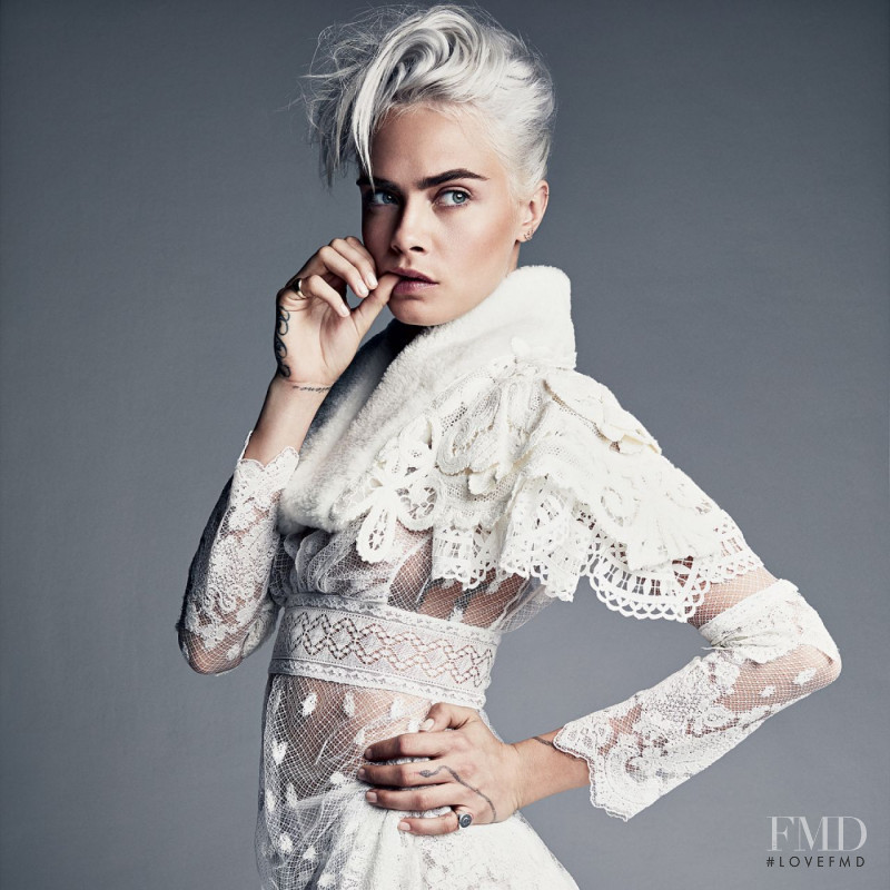 Cara Delevingne featured in Cara Delevingne, August 2017