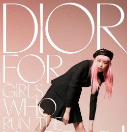 Dior for Girl Who Run the World