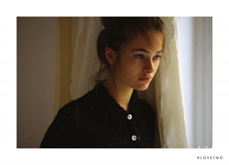 Daria Vlasova featured in Belles Demoiselles, November 2017