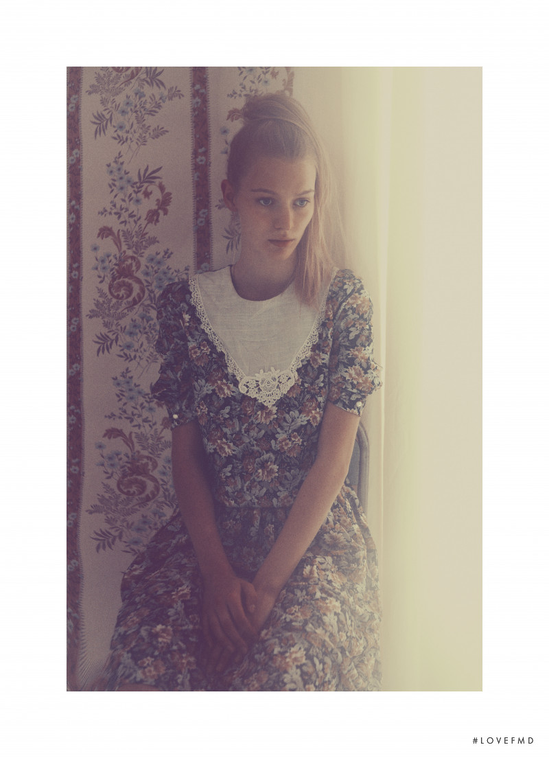 Lotta Jaeger featured in A Girl Like Lotta, November 2017