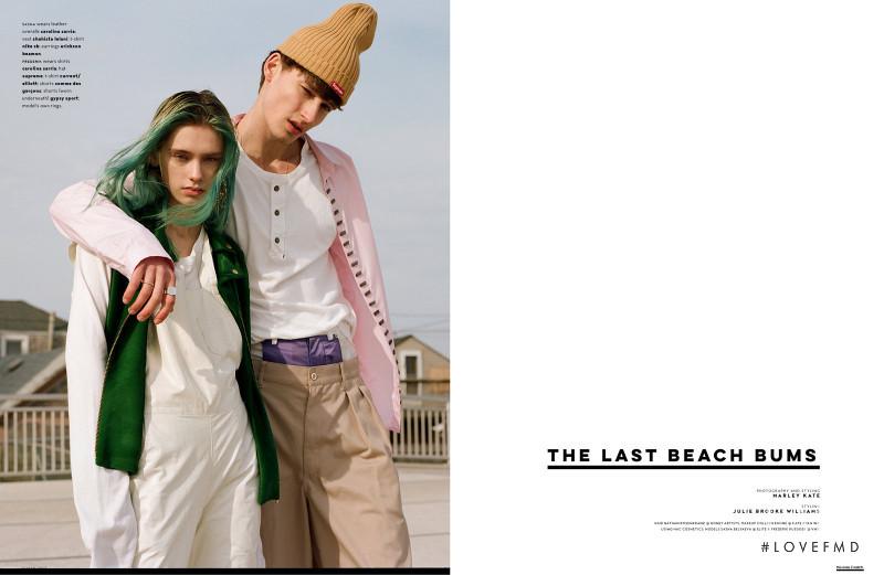 Sasha Belyaeva featured in The Last Beach Bums, March 2017