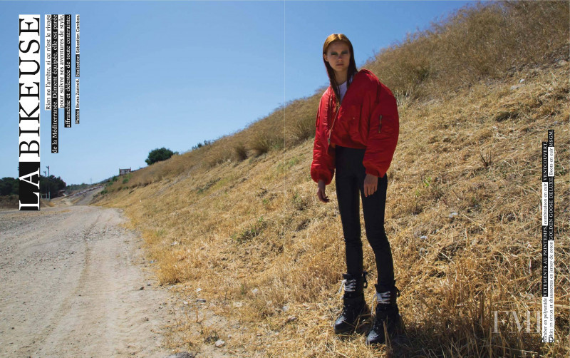 Manon Thiery featured in La Bikeuse, September 2016