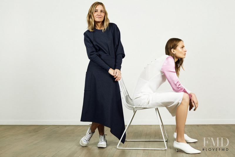 Anna Mila Guyenz featured in The Label: Tibi, December 2017