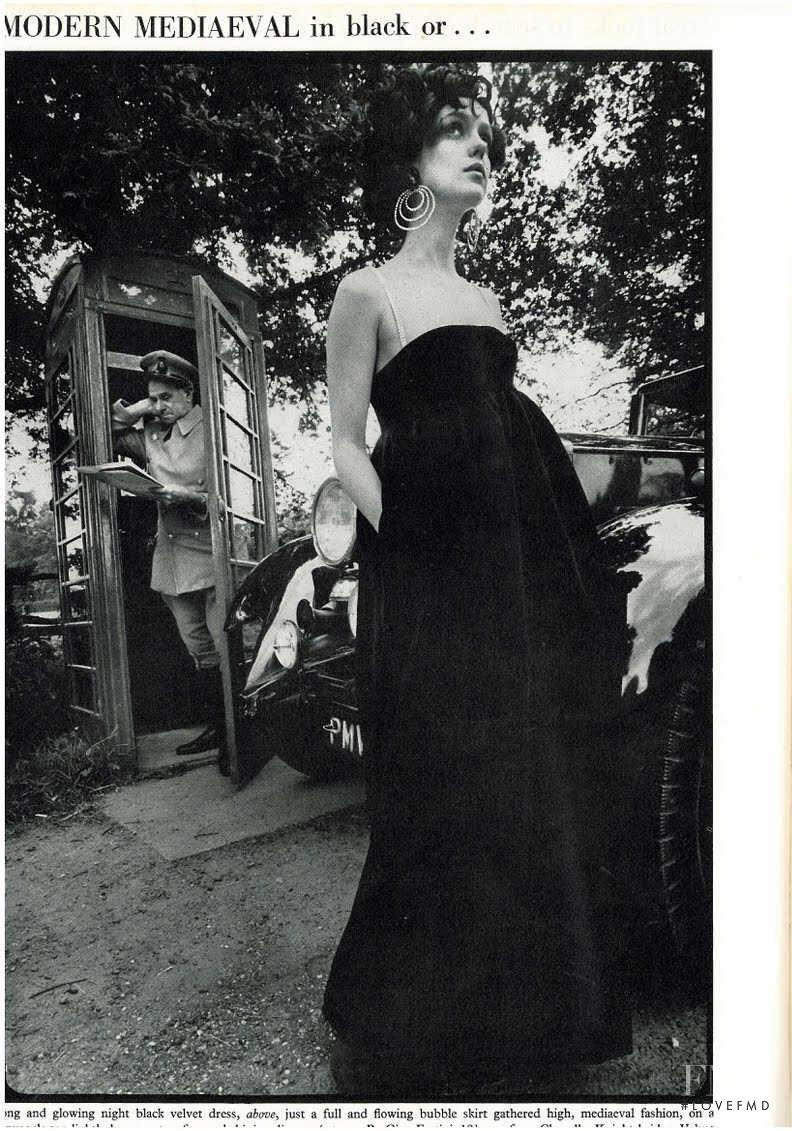 Donna Mitchell featured in Donna Mitchell, October 1967