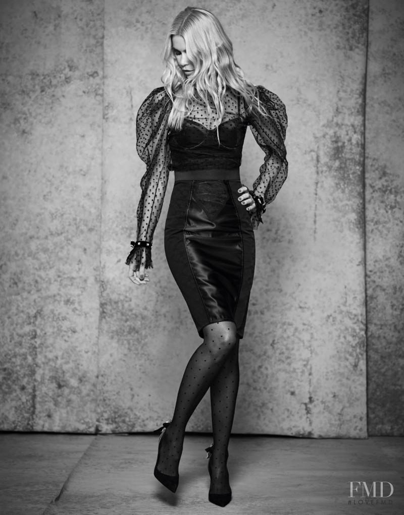 Claudia Schiffer featured in The Top Spot, November 2017