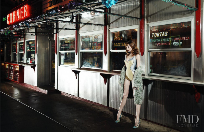 Elise Crombez featured in Prada, February 2012
